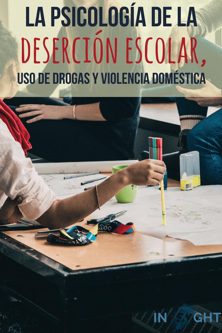 Se explican temas de importancia social, entre ellos la deserción escolar, el uso y abuso de las drogas y la violencia doméstica que viven nuestros niños y jóvenes, utilizando varias teorías psicológicas.