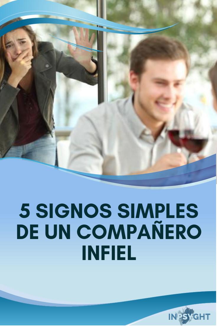 5 signos simples de un compañero infiel